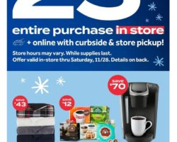 Bed Bath & Beyond Black Friday Ad 2020