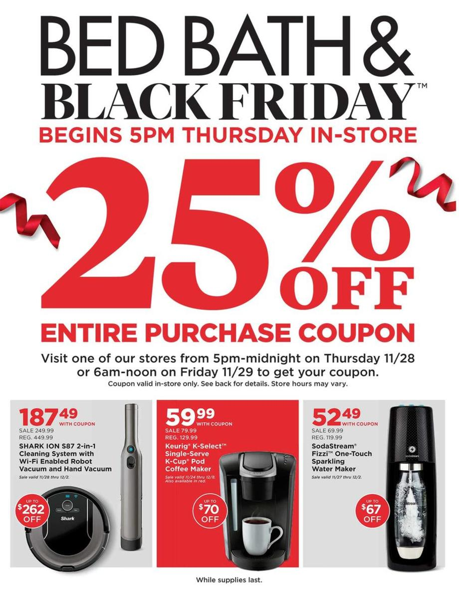 Bed Bath Beyond Black Friday Ad 2020