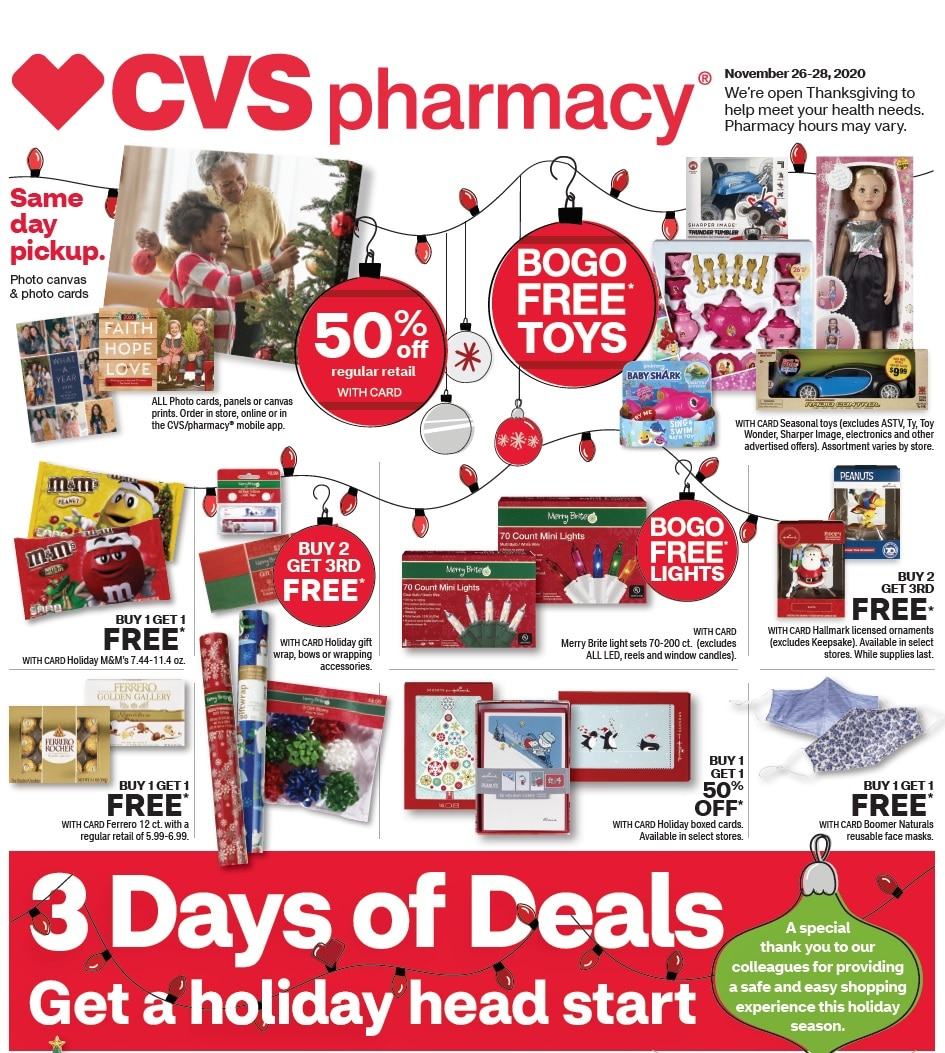 CVS Black Friday Ad Sale 2020