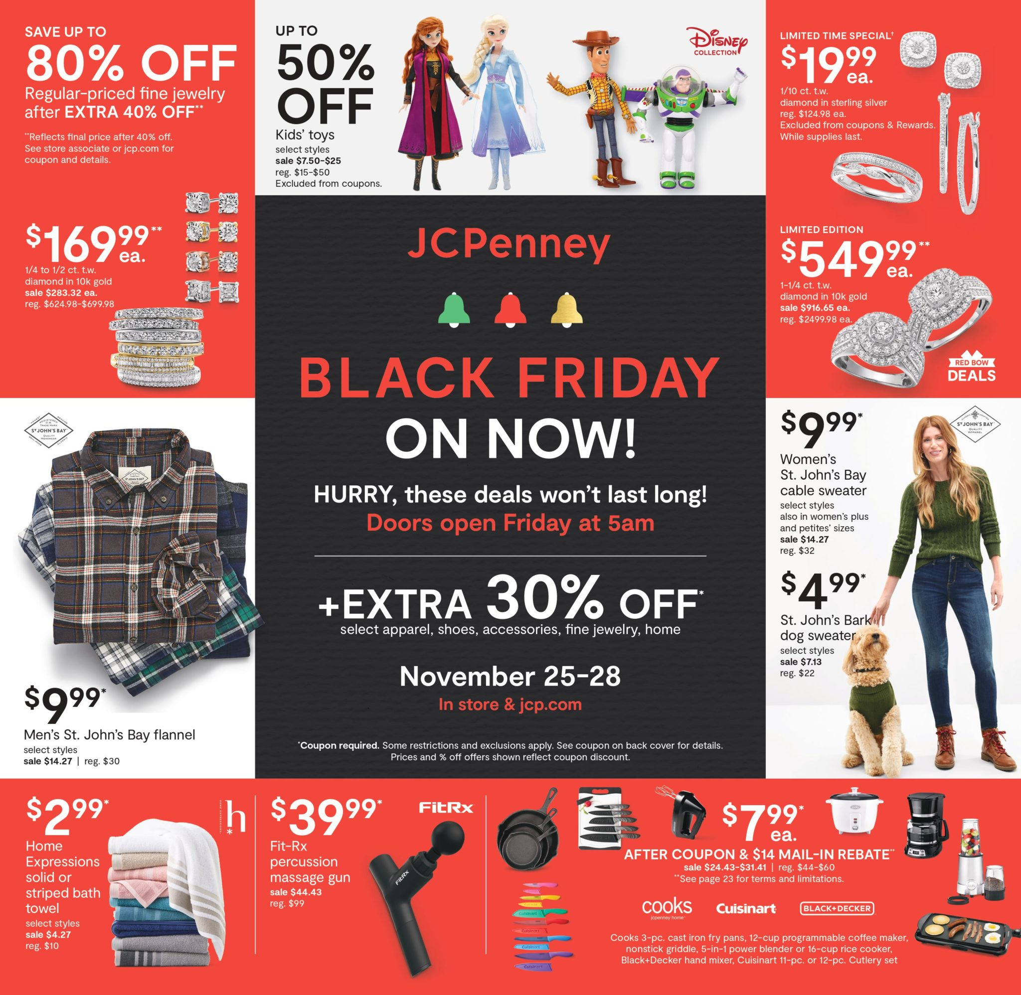 JCPenney Black Friday Sale Ad 2020