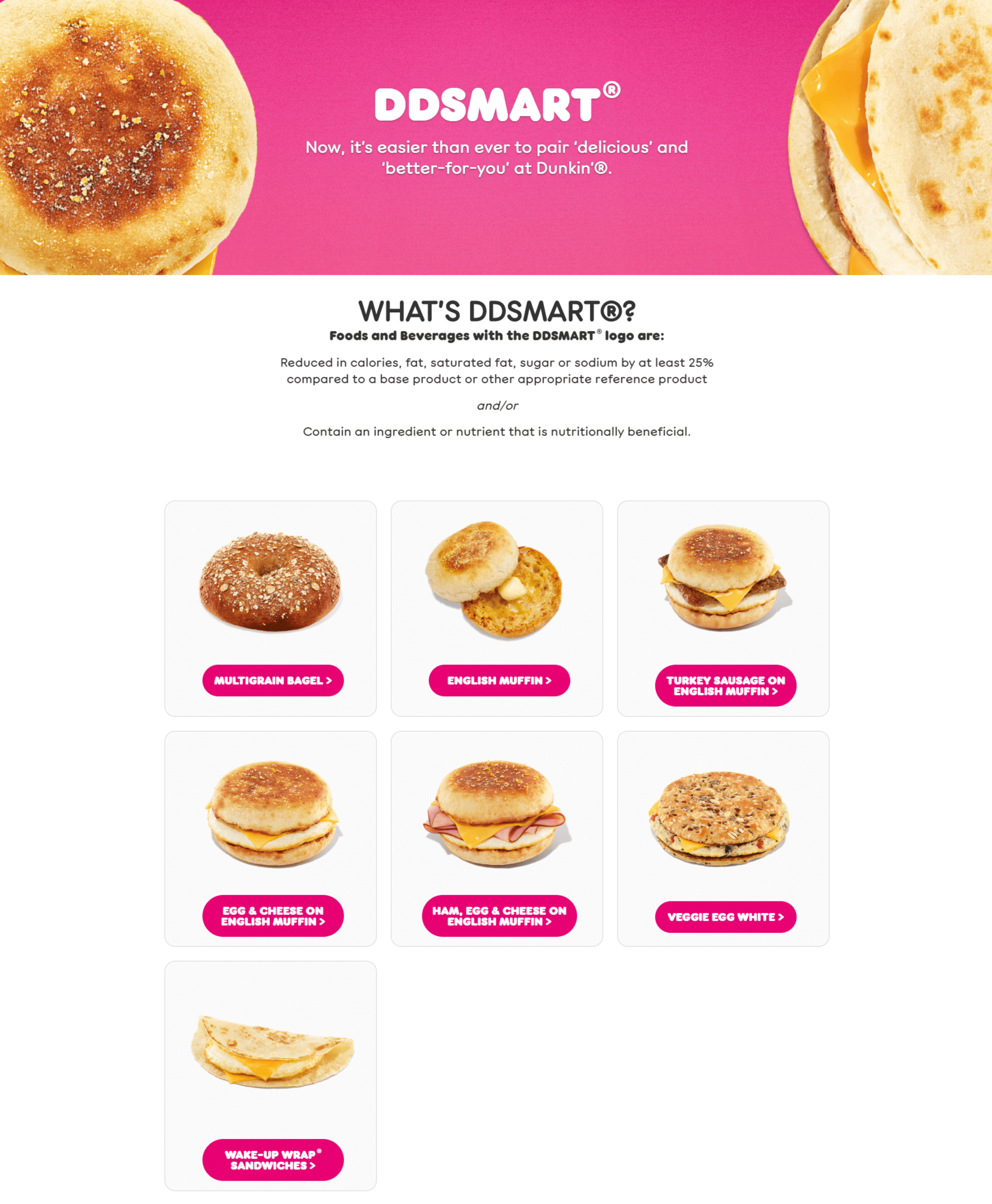 Dunkin' Donuts Menu And Specials